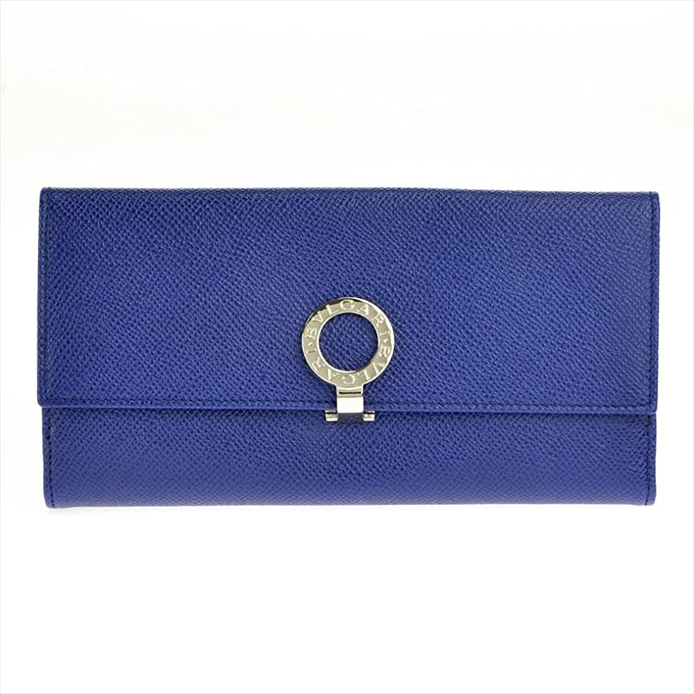 回復する代理人ネックレットブルガリ 36316 GRAIN/BLUE DAHLIA 長財布 【並行輸入品】