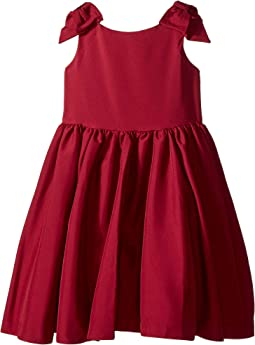 Special Occasion Bow Sleeve Dress (Toddler/Little Kids/Big Kids)