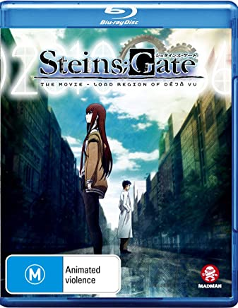 STEINS;GATE The Movie: LOAD REGION Of DÉJÀ VU (Blu-ray)