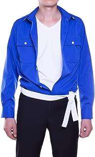 MJ Costume - The Way You Make Me Feel Blue Shirt Belt