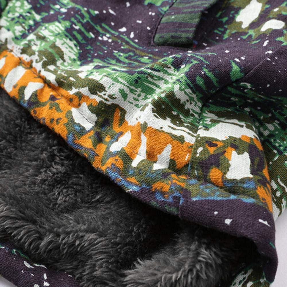 VEMOW Winter Herbst Damen Plus Größe Warm Winterjacke Jacke Mantel Kapuzenjacke Langarm Mit Fellkapuze Vintage Casual Steppjacke Wintermantel Y1-mehrfarbig