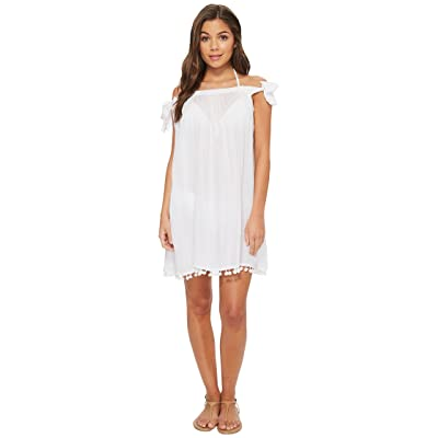 Bleu Rod Beattie Gypset Off the Shoulder Dress Cover-Up (White) Women
