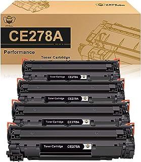 CMYBabee Compatible Toner Cartridge Replacement for HP 78A CE278A Toner for HP Laserjet P1606dn 1606dn M1536dnf 1536dnf - ...