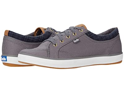 Keds Center Waxed Canvas (Charcoal) Women