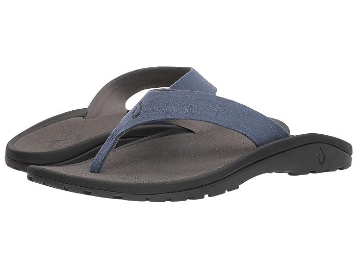 'Ohana Ho'okahi  Shoes (Vintage Indigo/Charcoal) Men's Sandals