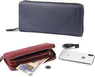 長財布 本革 人気 ブランド 男女兼用 ラウンドファスナー 大容量 カード多収納 小銭入れ パビン