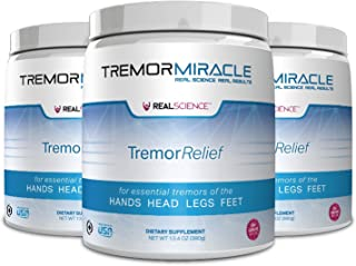 Tremor Miracle™ - Pack of 3 - Revolutionary Essential Tremor Relief Supplement