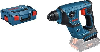 Bosch Professional GBH LI Compact Martillo perforador, 1 J, diámetro máximo hormigón 12 mm, SDS plus, sin batería, en L-BOXX, 550 W, Negro/Azul/Rojo, 18 V, 1J