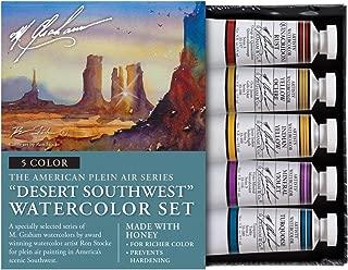M. Graham & Co. Watercolor Sets Watercolor Sets, Watercolor Sets, Desert Southwest 5 Color Watercolor Set