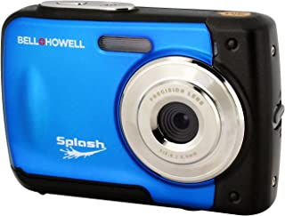 Bell+Howell Splash WP10-BL 16.0 Megapixel Waterproof Digital Camera with 2.4-Inch LCD & HD Video (Blue)