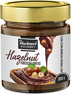 MUCHMORE Gourmet Turkish Hazelnut Paste 300g, Vegetarian, no Artificial Flavours, no Palm Oil and no preservatives (No Ref...