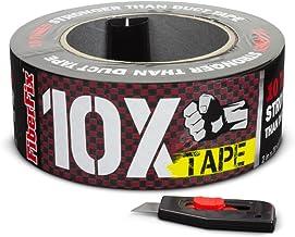 """FiberFix 10X Tape - Repair Tape 100x Stronger than Duct Tape - 2"""" (1 Roll)"""