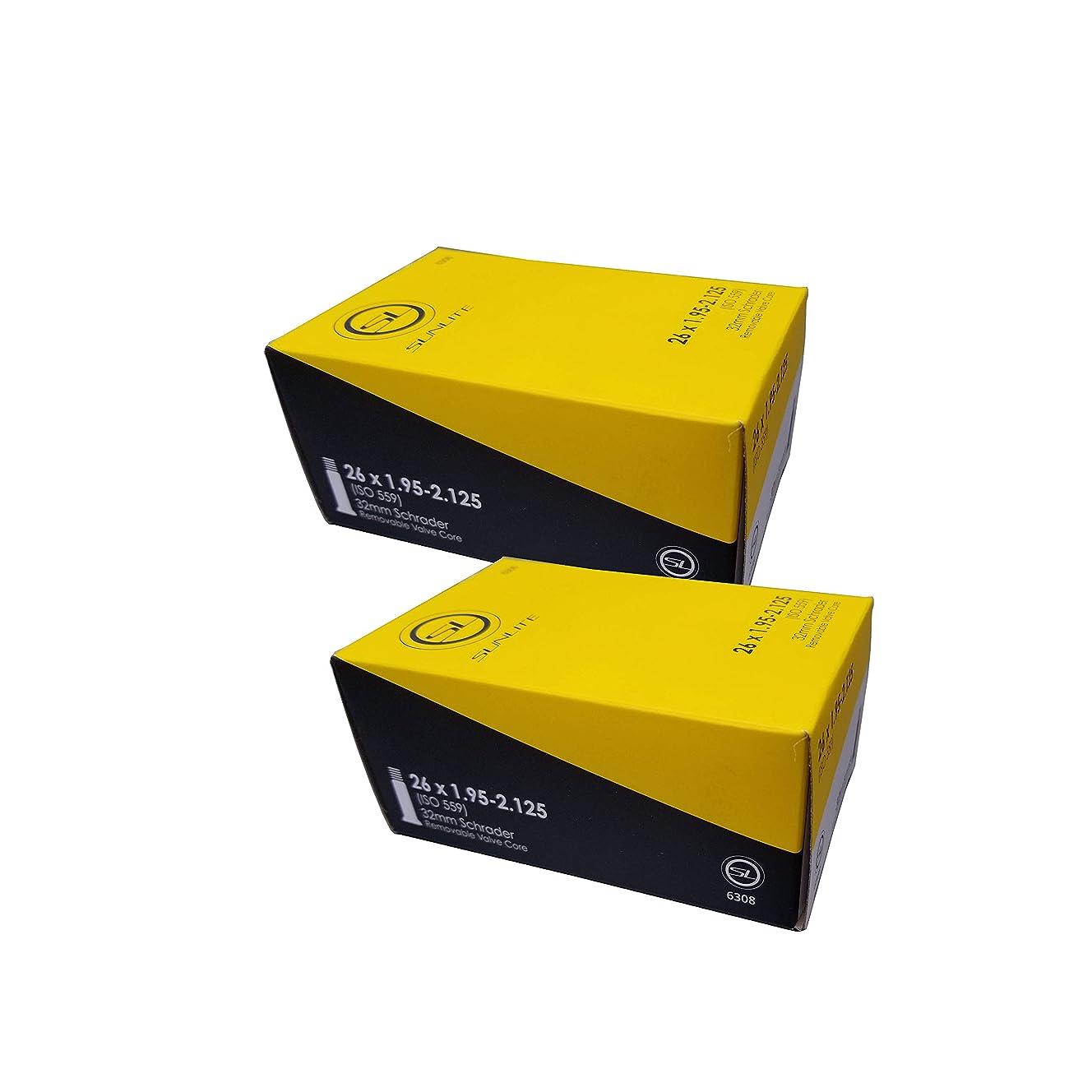 Street Fit 360 Tube, 26 x 1.95-2.125 32mm Schrader Valve