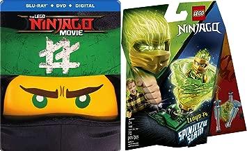 Ninjas + Lego Steelbook Exclusive LEGO NINJAGO Spinjitzu Slam Combo : The LEGO NINJAGO Movie SteelBook Store Exclusive (Blu-Ray/ HD Digital) + LEGO Ninjago Spinjitzu Slam - Lloyd 70681 Building Kit
