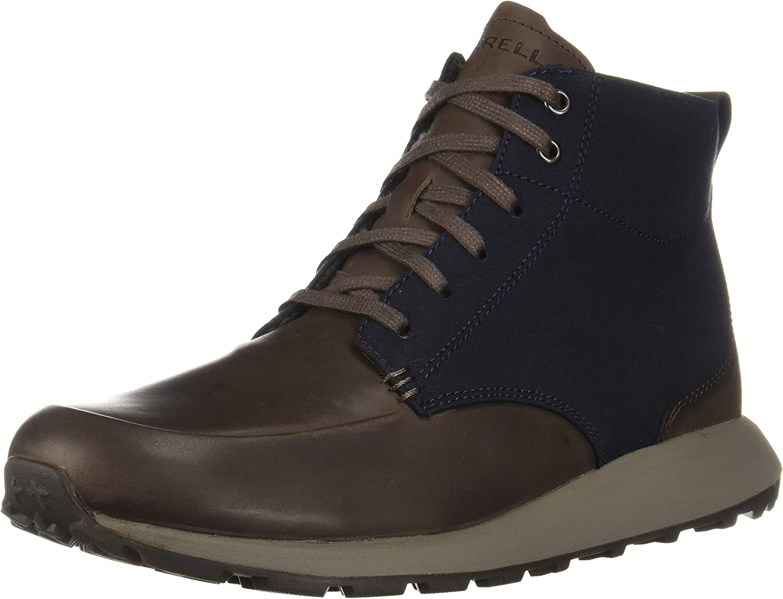Merrell Men's Ashford Mid Boot Hiking Super sale period limited Canvas Brand new