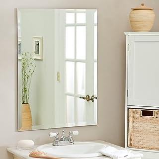 SDG Glass Wall Mirror (18 x 24 inch, Silver)