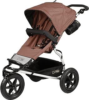 Mountain Buggy Urban Jungle Stroller: Urban Jungle Stroller Chocolate Dot Brown