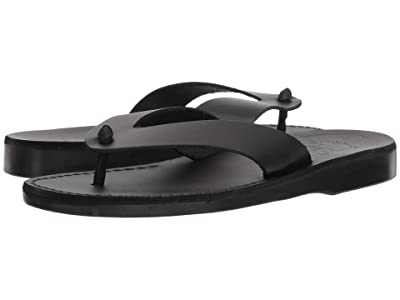 Jerusalem Sandals Solomon (Black) Men