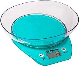 Balança Digital de Cozinha com Tigela 5 kg / 1 g. Rhino BACITA-5 Calcule o peso em gramas, libras, onças, mililitros e xíc...