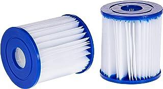 Bestway Flowclear™ filterpatronen maat I, dubbelverpakking, 8,0 x 9,0 cm