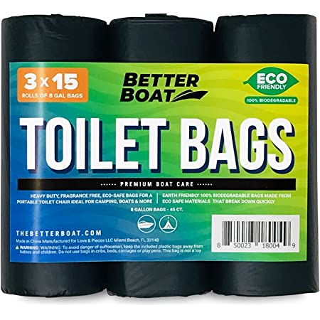 Rothco 5191 Portable Camp Toilet Replacement Bags for sale online