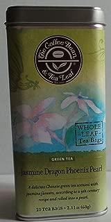 The Coffee Bean & Tea Leaf - Green Tea - Jasmine Dragon Phoenix Pearl - 20 Tea Bags