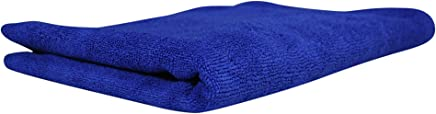Softspun Microfiber Hair & Face Care Towel - 40X60 cms - Blue