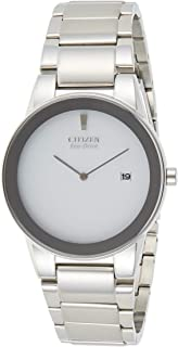 Citizen Men White Dial Stainless Steel Band Watch - aU1060-51a