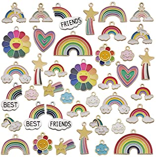 Cute rainbow charms