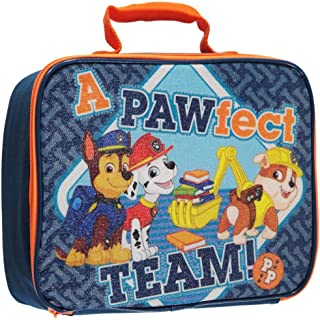 [Paw Patrol]Paw Patrol Chase Rubble and Marshall A PAWfect Team! Lunch Box 10 x 8 x 4 PK27998-SC-BL [並行輸入品]