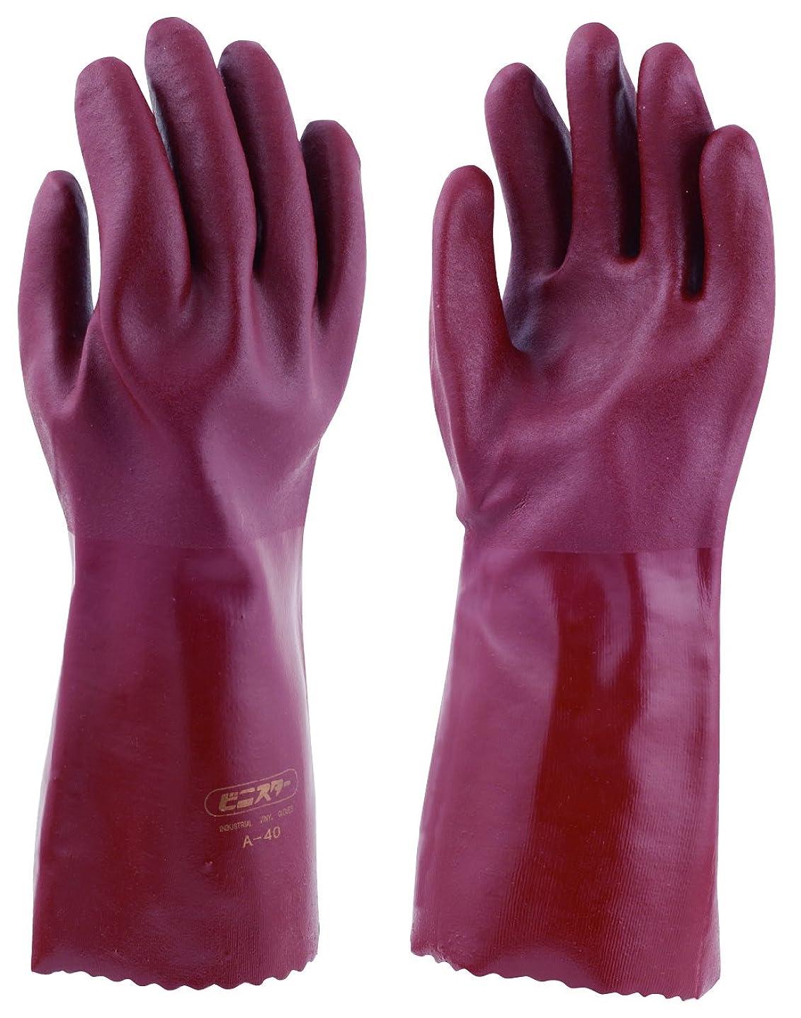 接続フォーカスかもしれない東和コーポレーション 《耐油性手袋》 ビニスター A-40 Mサイズ No.633