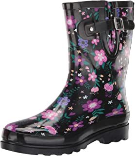 Women's Mid-Height Waterproof Rain Boots