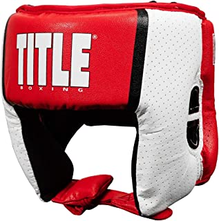 Title Boxing Aerovent USA Boxing Competition Headgear (Open Face)