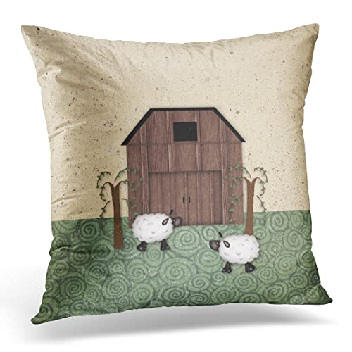 Brilliant Country Animal Pillow Covers Amazon Com Customarchery Wood Chair Design Ideas Customarcherynet