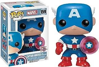 Funko Marvel Captain America with Photon Shield 75th Anniversary Pop Vinyl Figure