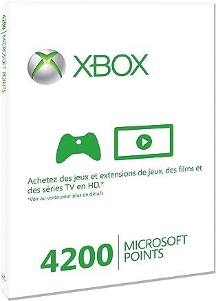 Microsoft Xbox 360 Live 4200 Points, FR - Juego (FR)
