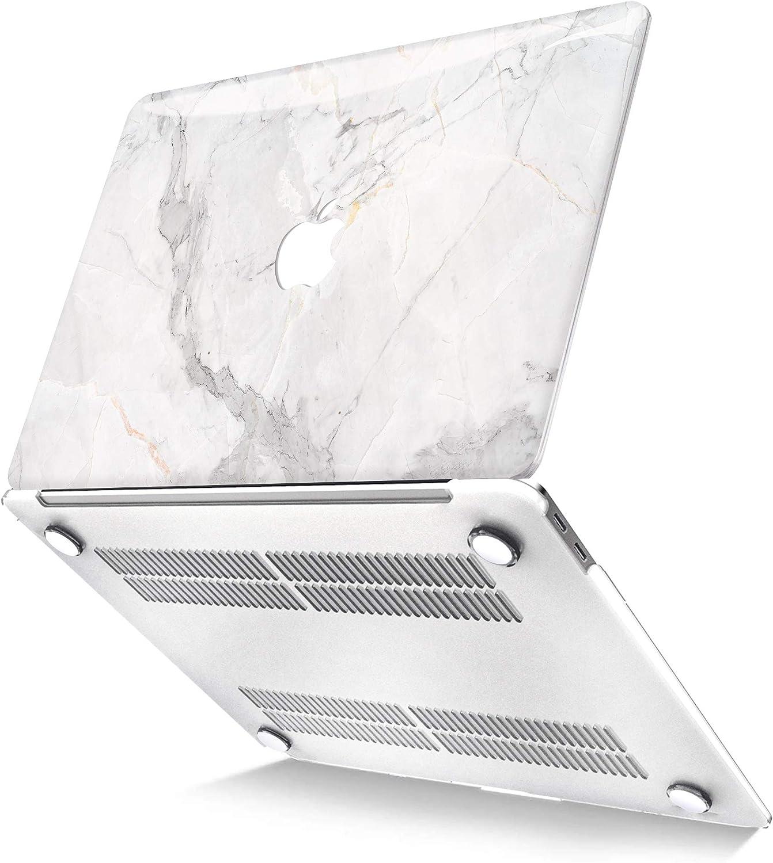 Marmo Nero Belk Custodia MacBook PRO 13 Pollici 2020-2016 con//Sans Touch Bar A2338 M1 A2289 A2251 A2159 A1989 A1706 A1708 Motivo Plastica Rigida Cover Protettiva con Copertura della Tastiera