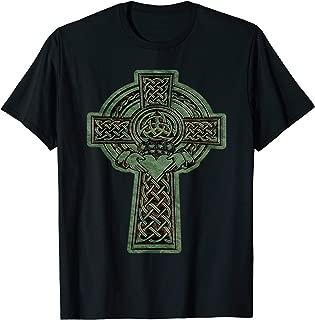 Irish Claddagh Ring Celtic Cross