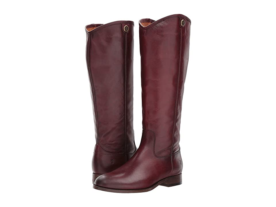 Frye Melissa Button 2 (Wine Extended) Cowboy Boots