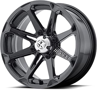 MSA Diesel 14x7 Black Wheel / Rim 4x110 with a -47mm Offset and a 86.00 Hub Bore. Partnumber M12-14710