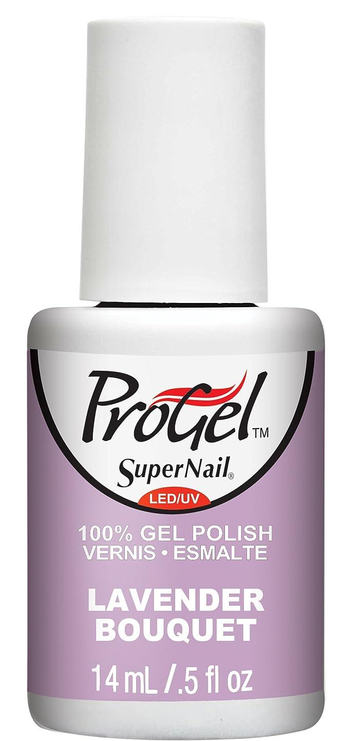 旅行リル補うSuperNail ProGel Gel Polish - Lavender Bouquet - 0.5oz / 14ml