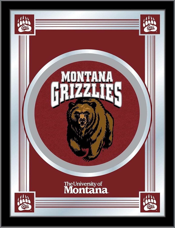Holland Bar Stool NCAA Montana Grizzlies Logo Mirror, 17 X 22-Inch