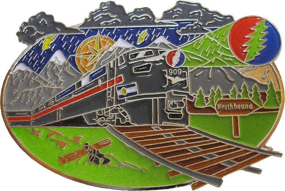 Very Max 49% OFF popular Hippie Train - Lightning Enamel Bolt Pin