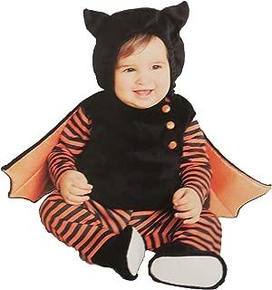 Hyde & Eek Infant Bat Costume Vest with Hood, Shirt, Leggings & Booties sz 0-6 Months