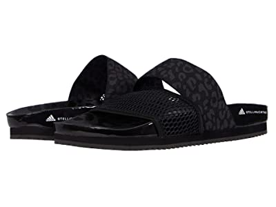 adidas by Stella McCartney Stella-Lette Slide Sandal (Core Black/Ultimate Black/Footwear White) Women