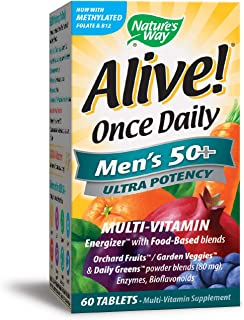 Nature's Way Alive Once Daily Men's Multi Ultra Potency Tablets 60-count