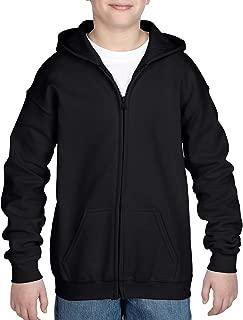 Gildan Kids' Full Zip Hooded Youth Sweatshirt