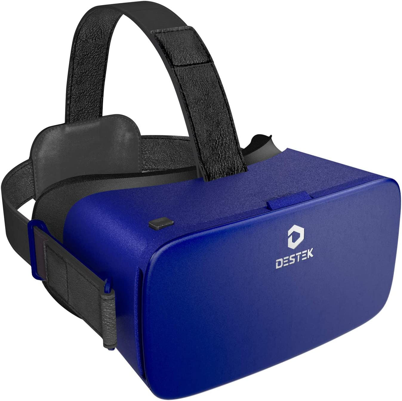 DESTEK VR Headset, for Phones LG W31 Plus/ Sony Xperia 5/ Sony Xperia 5 II/ Samsung Galaxy S10 Plus, Compatible with iPhone and Android Phones 5.5-6.7