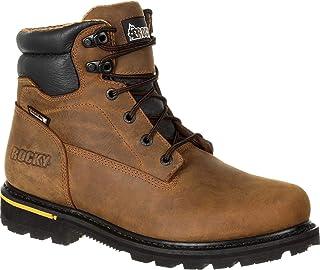 حذاء رجالي ماركة Rocky Governor مقاوم للماء مقاس 15.24 سم آمن لأصابع القدم