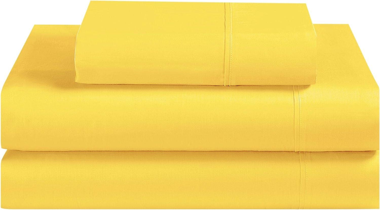 Avanti Linens Fiesta Yellow Bed Sheet